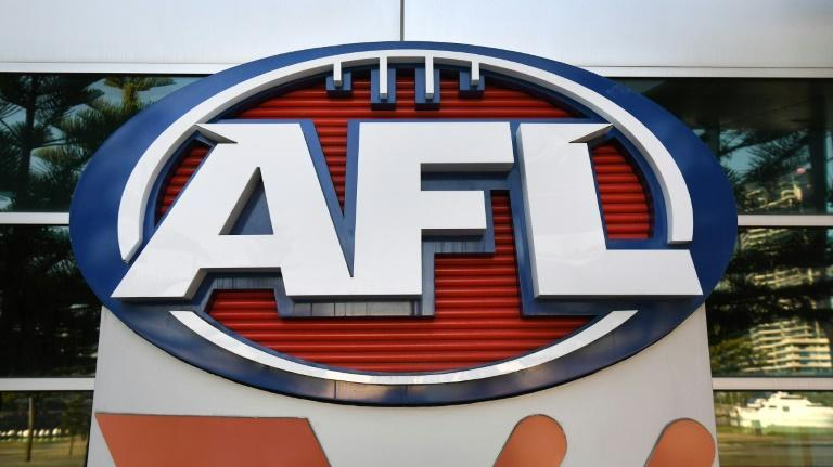 The AFL final was held in Perth rather than Melbourne due to the pandemic (AFP/William WEST)