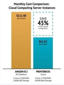 Cloud Computing IaaS Pricing Cut by 50 Percent; New Price Performance Leader Emerges