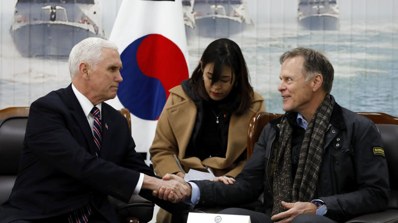 Pence Meets Otto Warmbier's Father