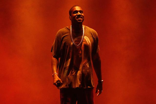 Kanye West performs in September 2016 in New York City. (Photo: Getty Images)