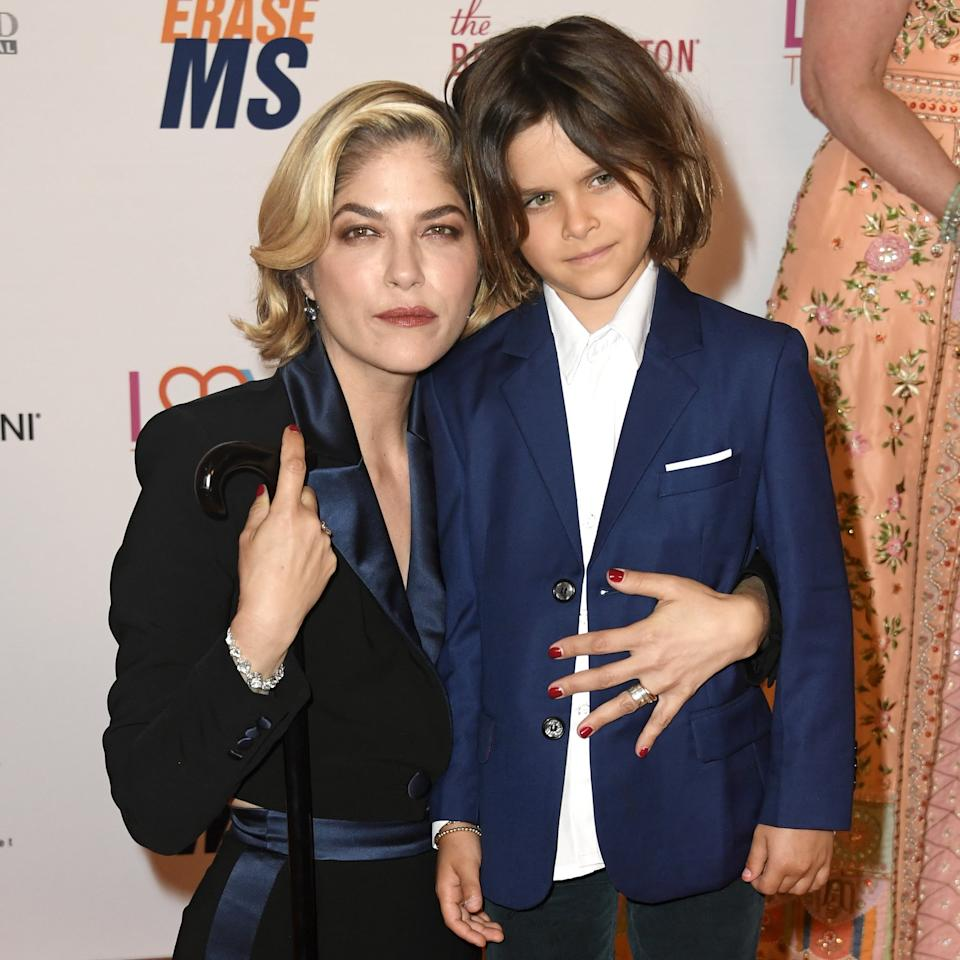 """Selma Blair Opened Up About Multiple Sclerosis and Her 8-Year-Old Son: """"He's Seen a Lot"""""""