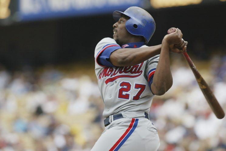 Vladimir Guerrero's Hall of Fame case will be revisited in 2018. (Getty Images)