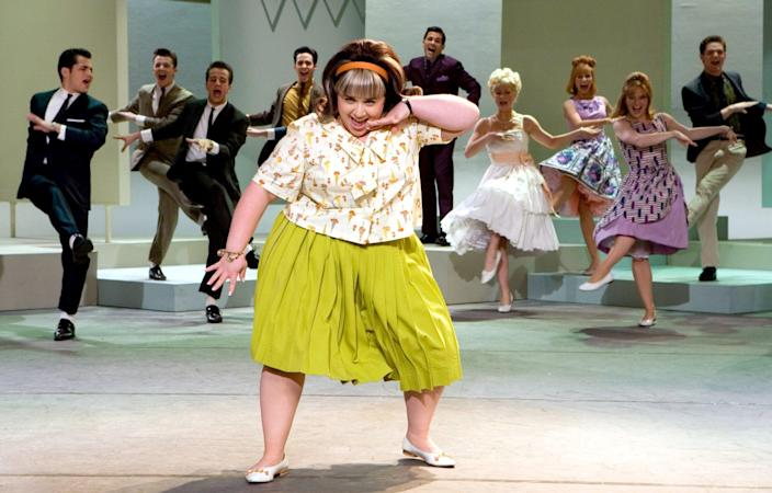 "<p>There's plenty of room for romance in this candy-colored musical about racial integration on a 1960s dance show! Tracy Turnblad just wants to dance on TV and win the attention of heartthrob Link Larkin. When she finally does get on TV, she becomes an overnight celebrity and befriends the show's segregated Black dancers and their mentor, joining them in the push to break down racist barriers.</p> <p><a href=""https://www.hbomax.com/feature/urn:hbo:feature:GXjtShwFsq47CZgEAABBq"" class=""link rapid-noclick-resp"" rel=""nofollow noopener"" target=""_blank"" data-ylk=""slk:Watch Hairspray on HBO Max"">Watch <strong>Hairspray</strong> on HBO Max</a>.</p>"