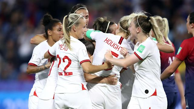 The Opta data shows 2019 Women's World Cup semi-finalists England have been far more impressive than they were in 2015.