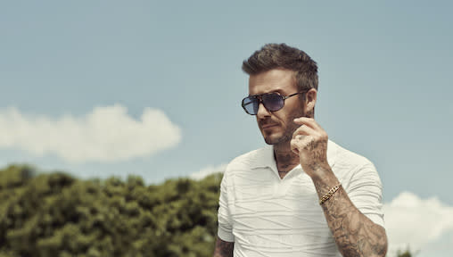 David Beckham Launches DB Eyewear by David Beckham with Safilo