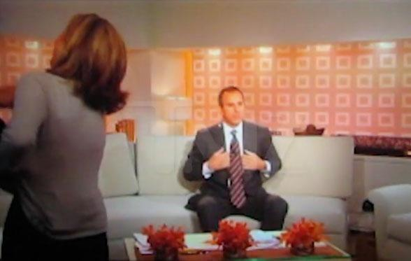 Just after it was confirmed that US morning news anchor Matt Lauer has been sacked over allegations of sexual misconduct, old footage of the NBC media personality has emerged, in which he asks a female colleague to