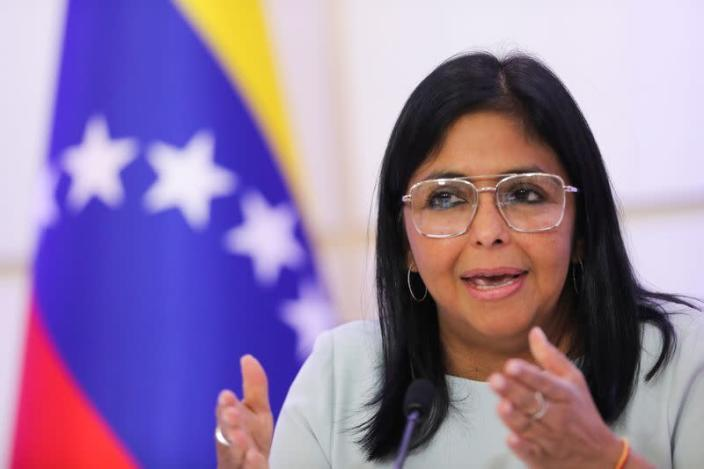 FILE PHOTO: Venezuela's VP Rodriguez holds news conference in Caracas