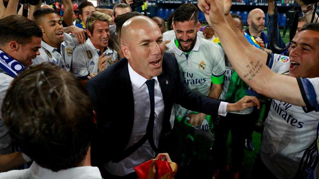After winning a Champions League and La Liga title already in Madrid, the France legend is already being earmarked for the Bleus job