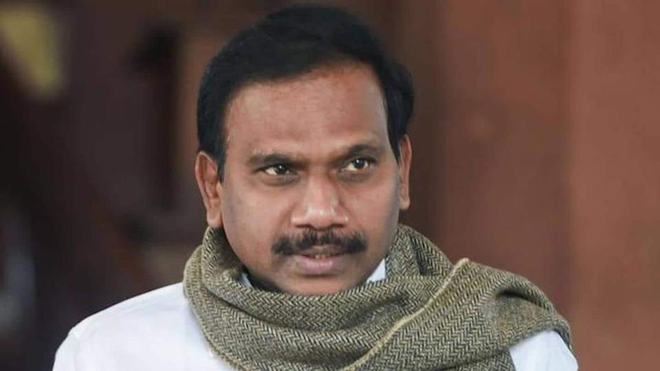 Election Commission prohibits A Raja from campaigning for 48 hours