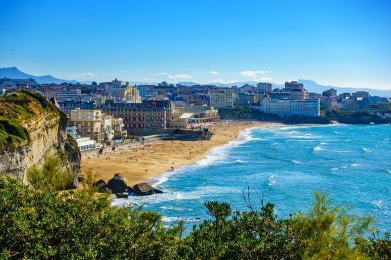Wild and windswept Biarritz (Getty/iStock)