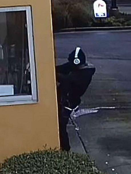 PHOTO: A man entered through a drive-thru window and then prepared food and napped during a burglary at a local Taco Bell in Lawrenceville, Ga., on Dec. 25, 2019. (Gwinnett County Police Dept.)