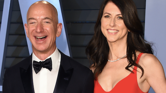 Amazon CEO Jeff Bezos Announces He and His Wife MacKenzie Are Divorcing