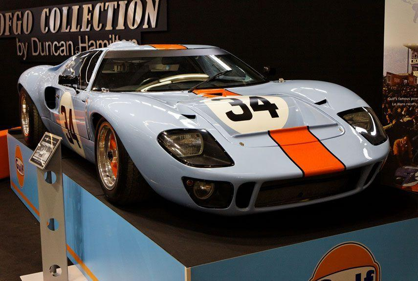 <p>The GT40 was built with a single purpose: to take down Ferrari at Le Mans. It succeeded, and is still the only American car to win the great French race.</p>