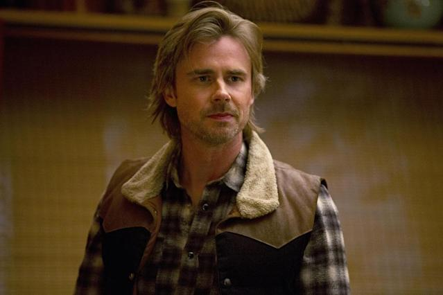 Sam Merlotte (Sam Trammell) owns the bar where Sookie and Lafayette work and is a shapeshifter who helped rescue his girlfriend and her daughter, a shapeshifter and a just-turned wolf, from Vampire Command.