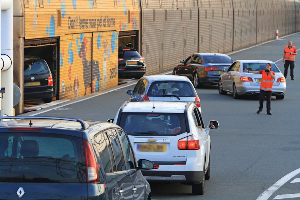 <p>Testing times: motorists as well as airline passengers will be expected to provide a negative PCR test</p> (Getlink)