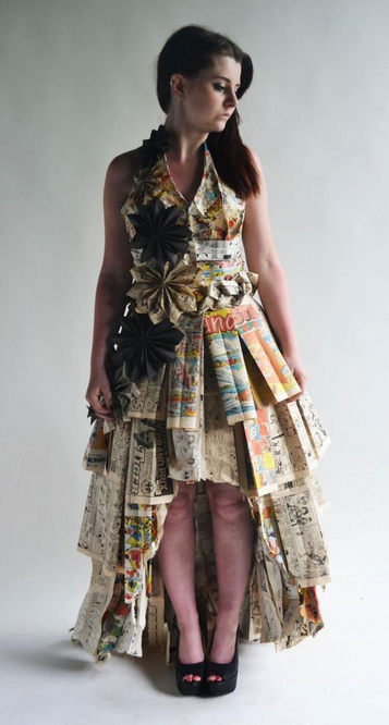 """<p>""""I made this prom dress as part of my exam for my extended diploma in art and design; it took me around 3 months,"""" <a href=""""https://twitter.com/_stephaniedan"""" rel=""""nofollow noopener"""" target=""""_blank"""" data-ylk=""""slk:Stephanie"""" class=""""link rapid-noclick-resp"""">Stephanie</a> told Seventeen.com. Her professor couldn't deny her awesomeness and gave her an A. ~CONGRATS~</p>"""