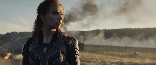 Scarlett Johansson in the upcoming prequel Black Widow, which will mark her departure from the MCU. (Image by Marvel)