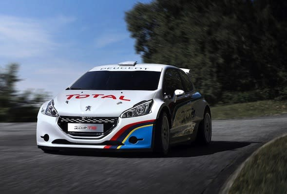 A celebration of Peugeot's return to Pikes Peak