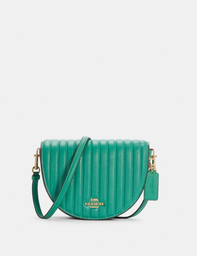Ellen Crossbody With Linear Quilting- Coach Outlet