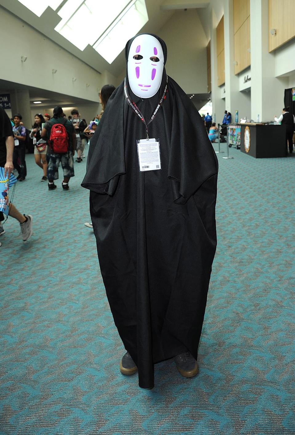 <p>Cosplayer dressed as Chichiyaku at Comic-Con International on July 20 in San Diego. (Photo: Albert L. Ortega/Getty Images) </p>