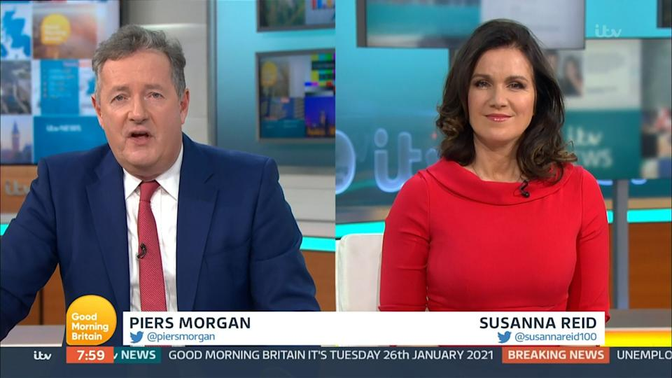 Piers and Susanna how they usually appear (Photo: ITV/Shutterstock)