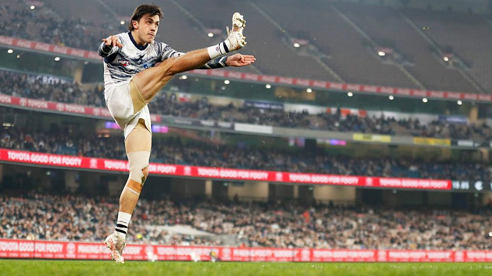 Carlton and Geelong, pictured here playing at the MCG.