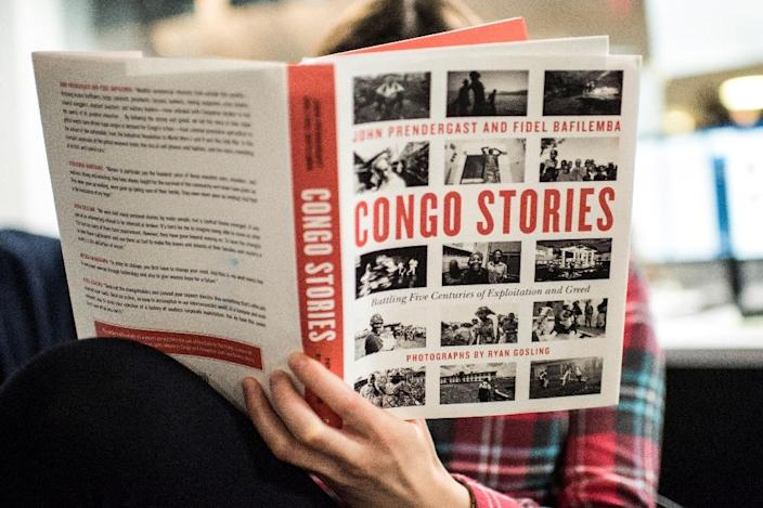 """In """"Congo Stories,"""" Gosling and the Enough Project's founding director John Prendergast unpack the tortuous history of the mineral-rich DRC and how its residents are looking to the future -- with photos by the actor (AFP Photo/Eric BARADAT)"""