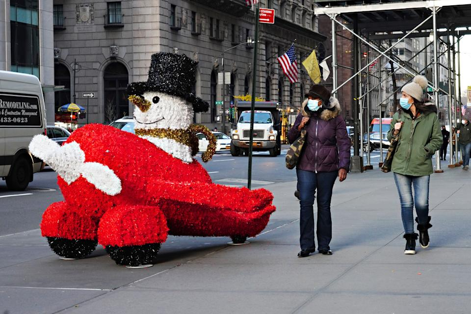 Covid-19 in New York City  (Photo: Getty Images)