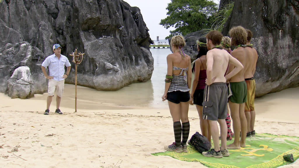 """Survivor: Caramoan - Fans vs. Favorites"" -- ""Don't Say Anything About My Mom"""