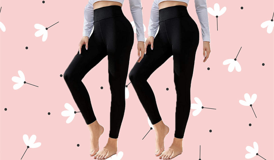 Psst...this CTHH deal gets you two pairs of leggings for just $7 bucks each! (Photo: Amazon)