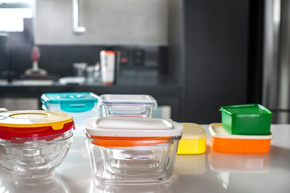 """<p>There are going to be leftovers to distribute among your guests (or to stockpile for yourself), so prepare accordingly by purchasing some cheap plastic storage containers to give away. Just make sure you're aware of<a href=""""https://www.thedailymeal.com/holidays/thanksgiving-leftovers-guide-gallery?referrer=yahoo&category=beauty_food&include_utm=1&utm_medium=referral&utm_source=yahoo&utm_campaign=feed"""" rel=""""nofollow noopener"""" target=""""_blank"""" data-ylk=""""slk:how long your Thanksgiving leftovers will last"""" class=""""link rapid-noclick-resp""""> how long your Thanksgiving leftovers will last</a>.</p> <p><strong>More from The Daily Meal:</strong></p> <p><strong><a href=""""https://www.thedailymeal.com/cook/classic-southern-recipes-are-better-grandma-s-gallery?referrer=yahoo&category=beauty_food&include_utm=1&utm_medium=referral&utm_source=yahoo&utm_campaign=feed"""" rel=""""nofollow noopener"""" target=""""_blank"""" data-ylk=""""slk:Classic Southern Recipes That Are Better Than Grandma's"""" class=""""link rapid-noclick-resp"""">Classic Southern Recipes That Are Better Than Grandma's</a></strong></p> <p><strong><a href=""""https://www.thedailymeal.com/cook/cast-iron-pan-surprises?referrer=yahoo&category=beauty_food&include_utm=1&utm_medium=referral&utm_source=yahoo&utm_campaign=feed"""" rel=""""nofollow noopener"""" target=""""_blank"""" data-ylk=""""slk:Cast-Iron Skillet Recipes You Didn't Know You Could Make"""" class=""""link rapid-noclick-resp"""">Cast-Iron Skillet Recipes You Didn't Know You Could Make</a></strong></p> <p><strong><a href=""""https://www.thedailymeal.com/cook/13-things-you-didnt-know-you-could-make-boxed-cake-mix-slideshow?referrer=yahoo&category=beauty_food&include_utm=1&utm_medium=referral&utm_source=yahoo&utm_campaign=feed"""" rel=""""nofollow noopener"""" target=""""_blank"""" data-ylk=""""slk:Boxed Cake Mix Recipes: Turn This Staple Into 20 Desserts"""" class=""""link rapid-noclick-resp"""">Boxed Cake Mix Recipes: Turn This Staple Into 20 Desserts</a></strong></p> <p><strong><a href=""""https://www.thedailymeal.com/cook/8-easy-meatloaf-reci"""