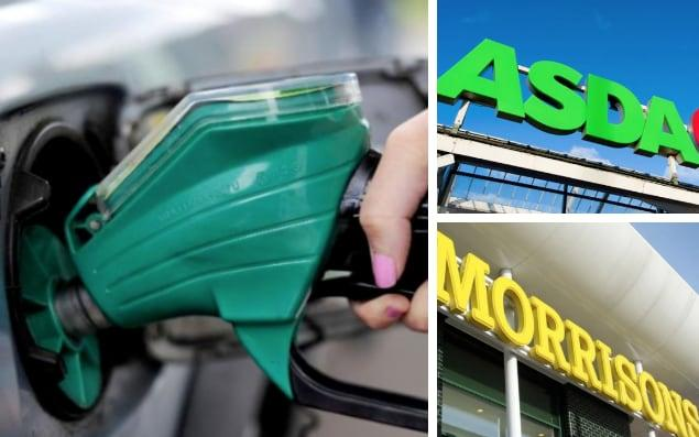 The price of fuel is set to drop, thanks to Asda and Morrisons - Getty Images