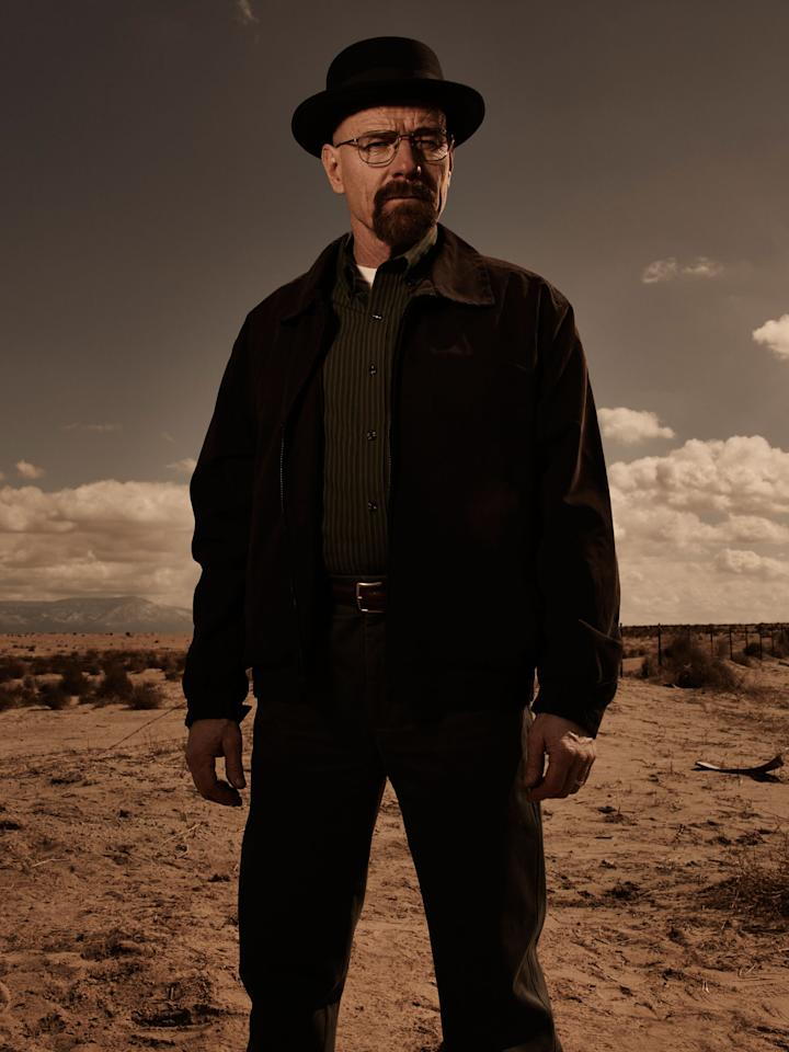 "Walter White (Bryan Cranston) in ""Breaking Bad"" Season 5."