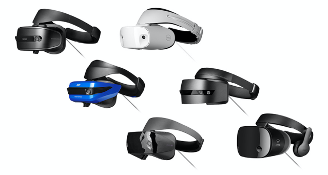 Windows Mixed Reality headsets are designed to run on entry-level and high-end PCs.