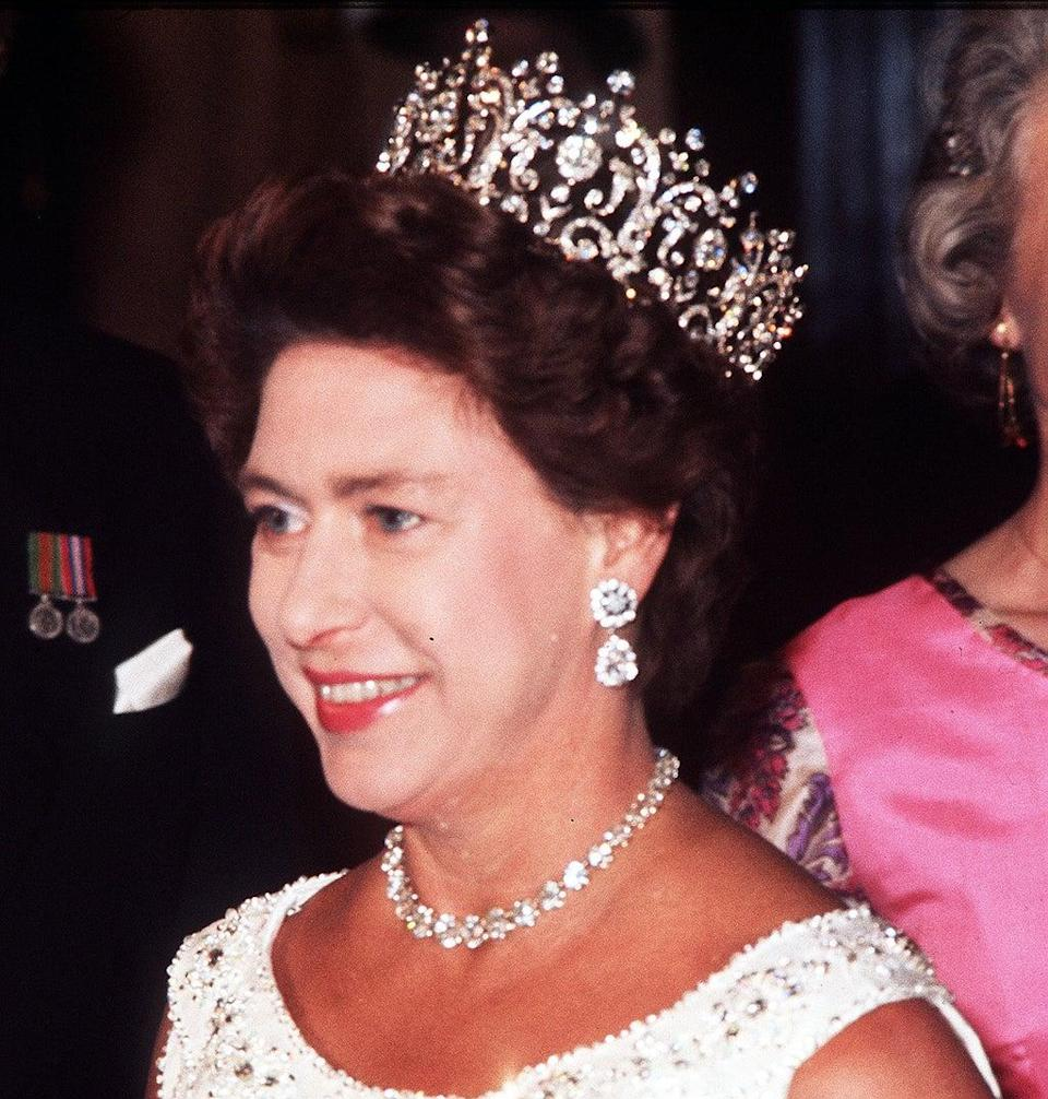 A bracelet owned by Princess Margaret has sold for almost £400,000 (PA) (PA Archive)