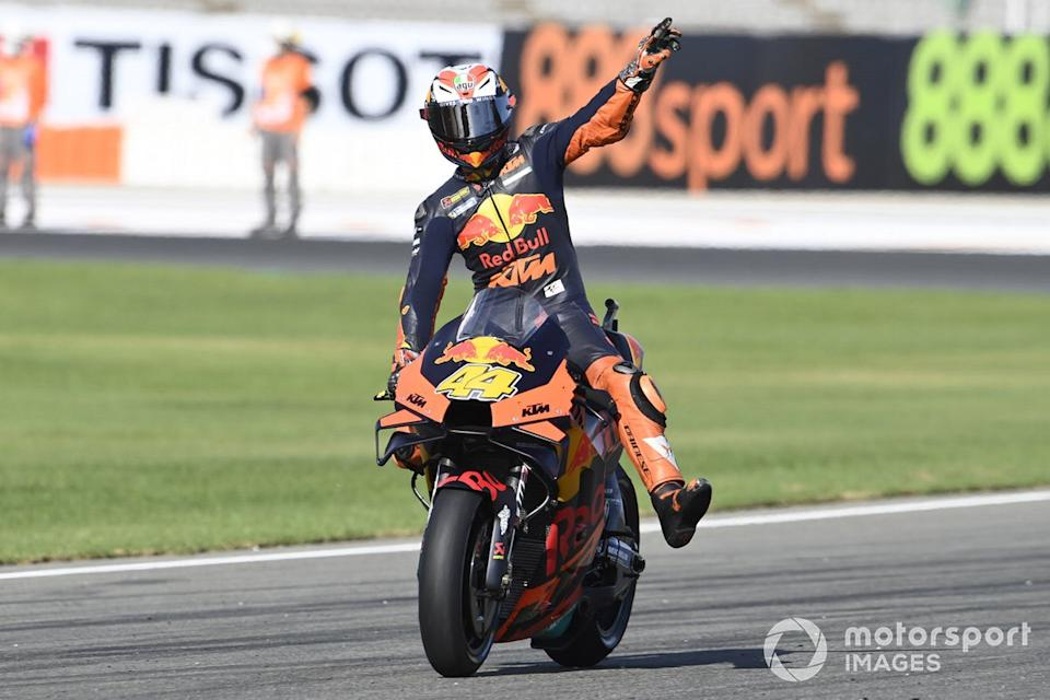 "Tercer lugar Pol Espargaró, Red Bull KTM Factory Racing<span class=""copyright"">Gold and Goose / Motorsport Images</span>"