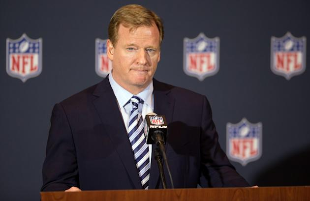 Roger Goodell is under fire for his handling of the Ray Rice case. (USA TODAY Sports)