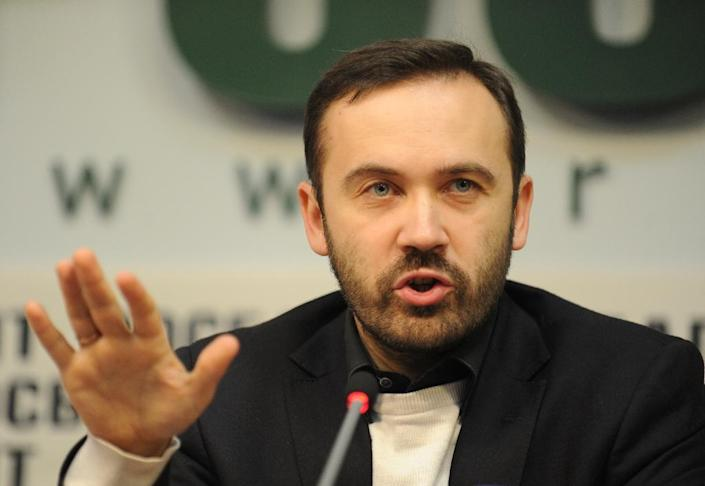 Russian MP Ilya Ponomaryov remains a sitting lawmaker but lives in the United States (AFP Photo/Andrey Smirnov)