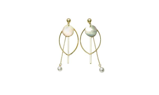 "<p>Pearl drop earrings, $39, <a href=""https://genuine-people.com/collections/accessories/products/pearl-drop-earrings?variant=31962740361"" rel=""nofollow noopener"" target=""_blank"" data-ylk=""slk:genuine-people.com"" class=""link rapid-noclick-resp"">genuine-people.com</a> </p>"