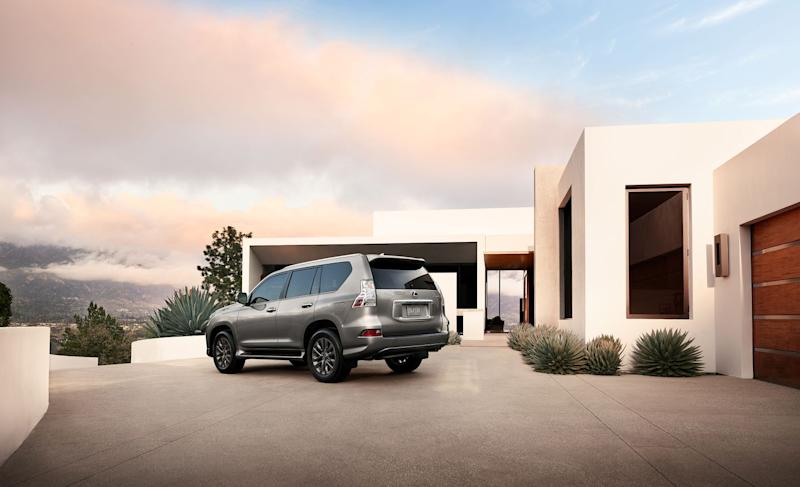 Lexus GX facelift unveiled