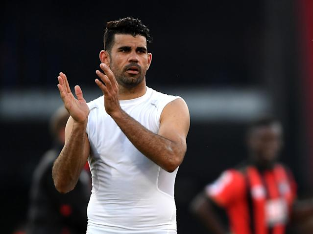 Costa has been linked with a move to China or a return to Atletico Madrid: Getty