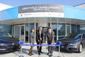 VW Credit, Inc. Celetes Expansion of Libertyville Facility ...