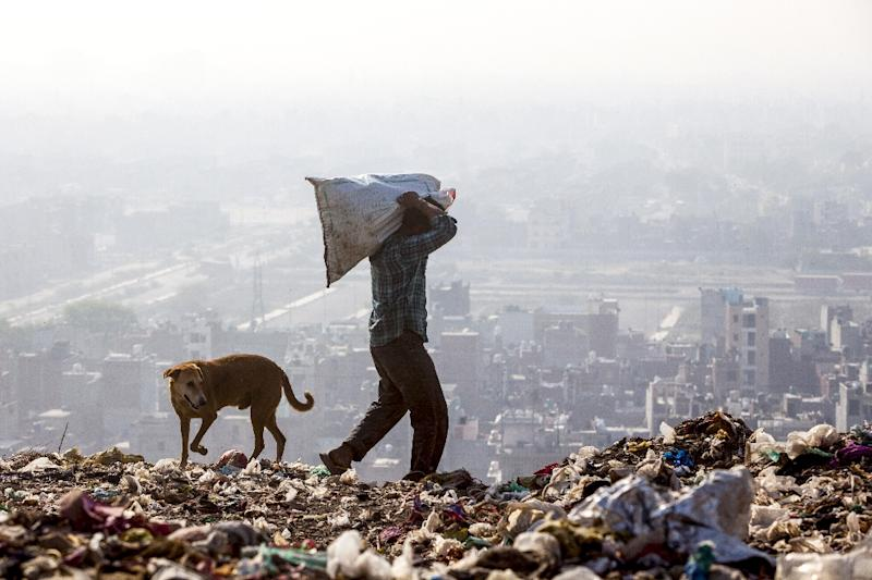 A recent study said the dump was a health risk for people living within five kilometres (three miles), including for cancer (AFP Photo/XAVIER GALIANA)