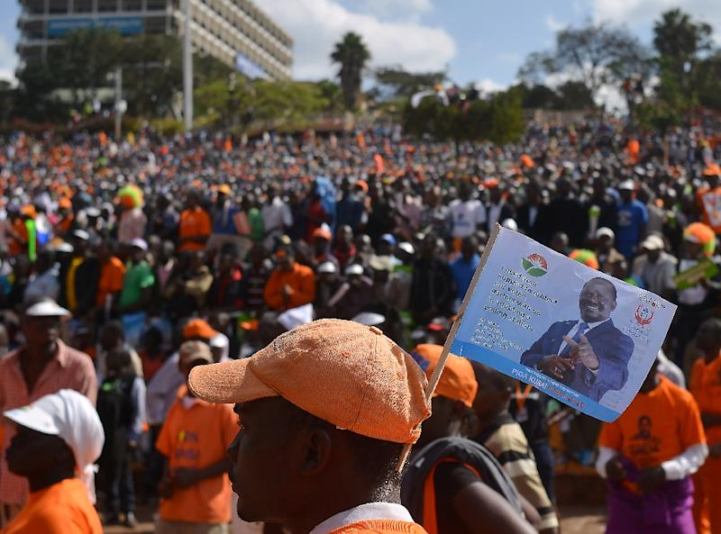 Opposition candidate Raila Odinga, a former prime minister, is at 72 likely making his last tilt at the presidency and has disputed two previous defeats