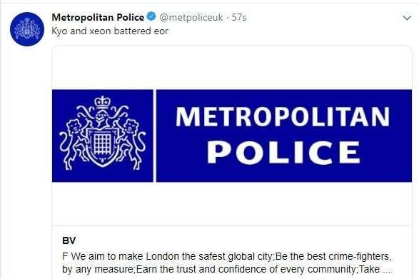 The Met are thought to have resecured their account (PA)