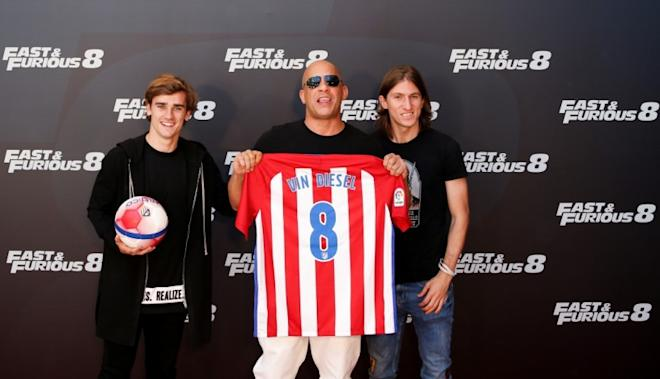 vin diesel, fate of the furious, antoine griezmann