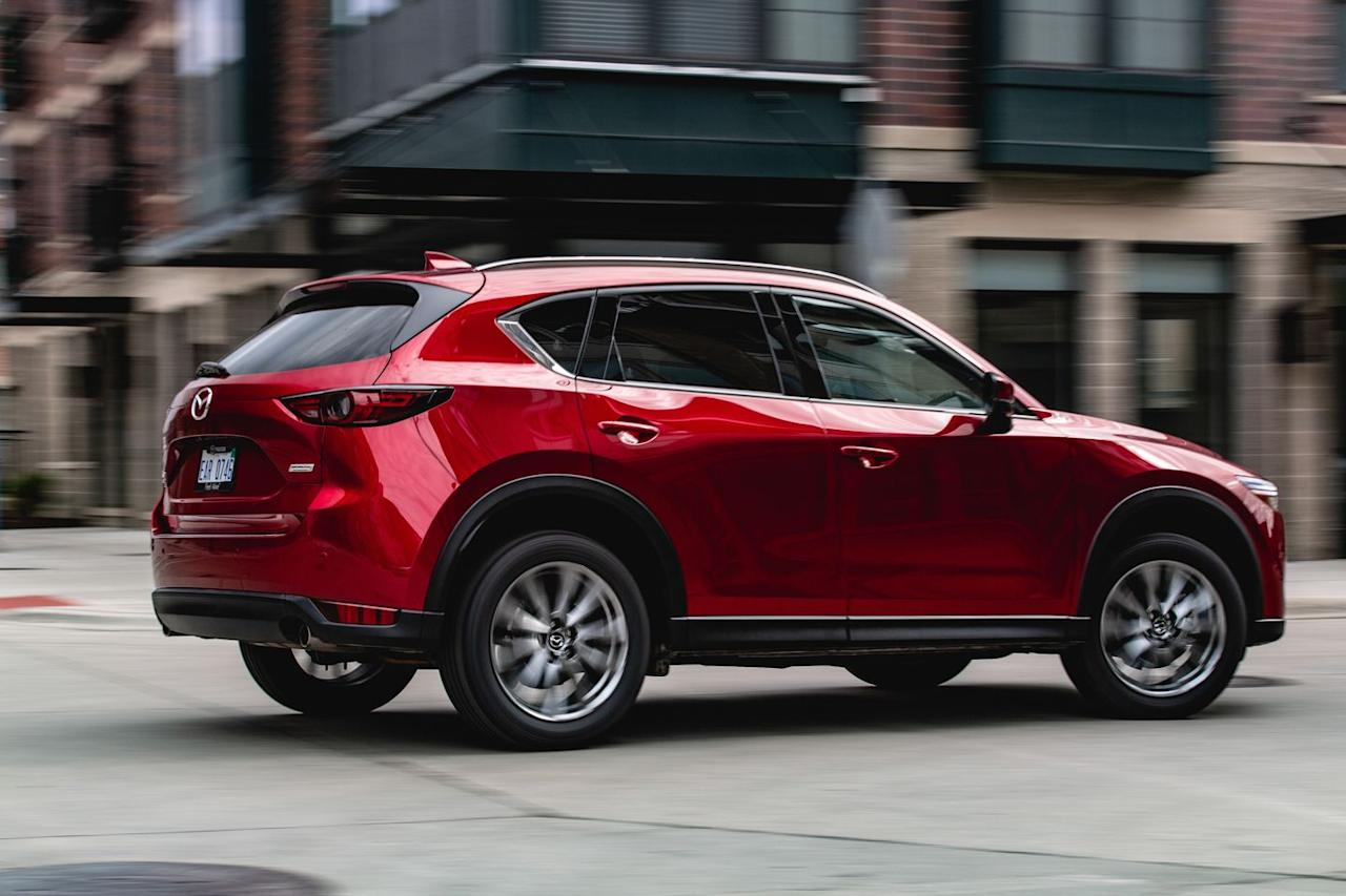 <p>Mazda has taken this to mean that buyers can and want to pay more for their vehicles, which has spurred it to add ever more deluxe Grand Touring Reserve and Signature trims above the previously top-dog Grand Touring spec on some models, the CX-5 included.</p>