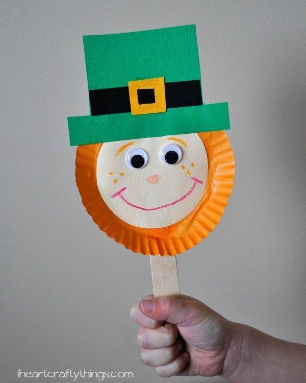 """<p>If you're heading to a St. Patty's Day parade, don't let your crew show up empty handed. Collect craft sticks and paper plates to create the most true-to-theme holiday decoration around.</p><p><strong>Get the tutorial at <a href=""""https://iheartcraftythings.com/leprechaun-stick-puppet-st-patricks-day.html"""" rel=""""nofollow noopener"""" target=""""_blank"""" data-ylk=""""slk:I Heart Crafty Things"""" class=""""link rapid-noclick-resp"""">I Heart Crafty Things</a>. </strong></p><p><strong><a class=""""link rapid-noclick-resp"""" href=""""https://www.amazon.com/Darice-Piece-Natural-Finish-Sticks/dp/B001VDKHN0/?tag=syn-yahoo-20&ascsubtag=%5Bartid%7C10050.g.4035%5Bsrc%7Cyahoo-us"""" rel=""""nofollow noopener"""" target=""""_blank"""" data-ylk=""""slk:SHOP CRAFT STICKS"""">SHOP CRAFT STICKS</a><br></strong></p>"""
