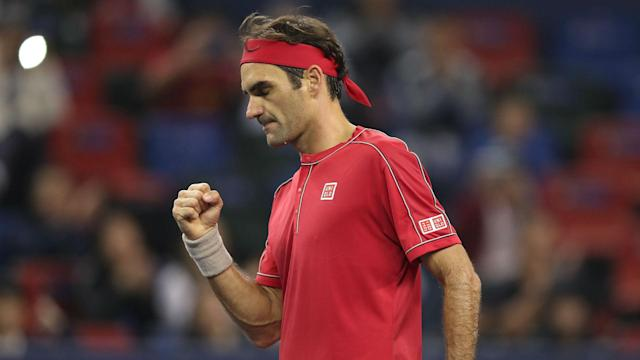 Nine-time Swiss Indoors Basel champion Roger Federer made light work of Peter Gojowczyk in his home city on Monday.