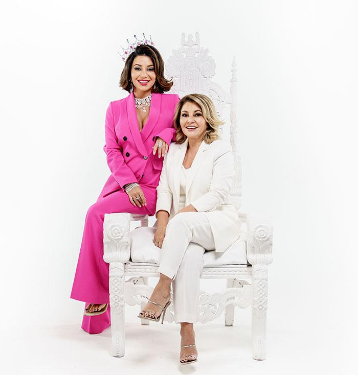 Martha says her mum Mary Kalifatidis, who is working with her daughter as an ambassador for ShopBack, didn't like watching her on MAFS. Photo: Provided